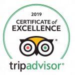 Trip Advisor 2019 Certificate