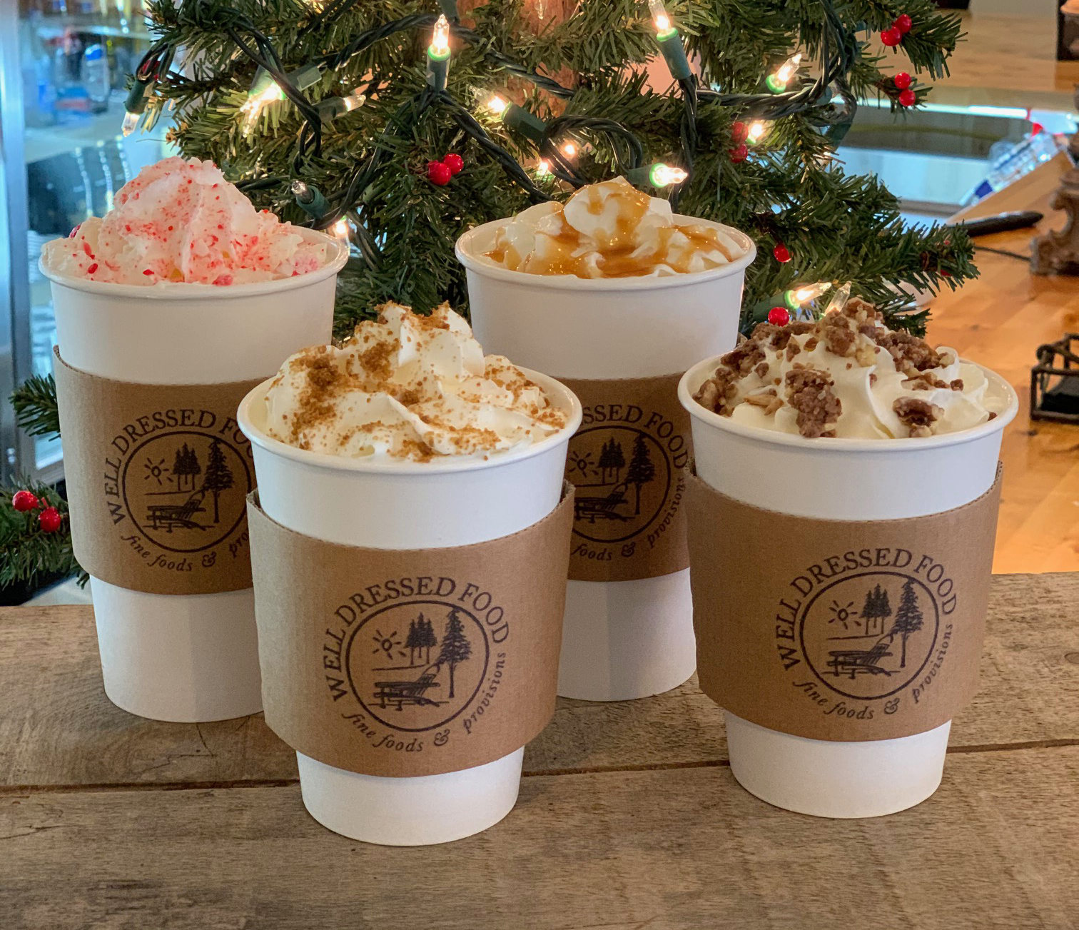 Holiday Espresso Bar Lattes
